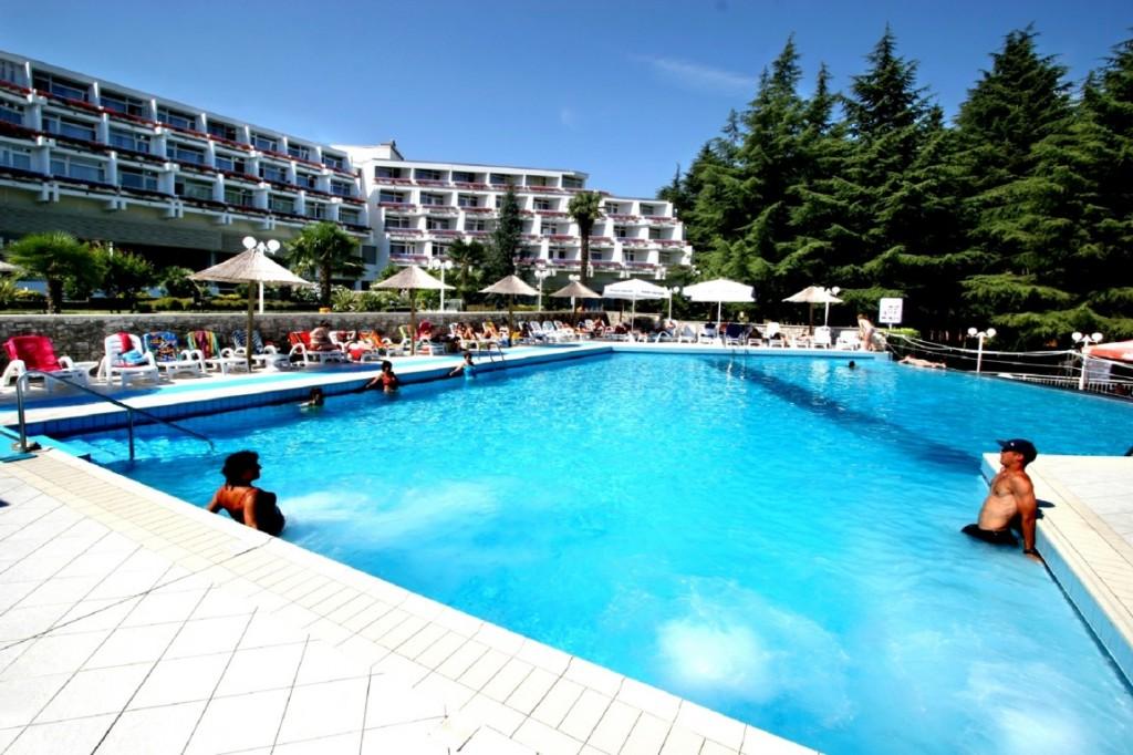 Pool Hotel Mediteran Porec