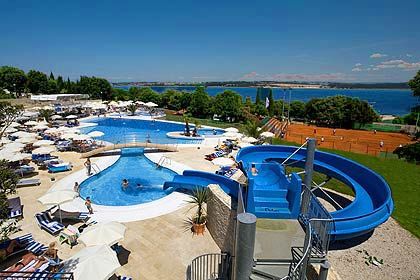 on feet images of presenting discount shop Valamar Club Tamaris**** - family hotel in Porec, Croatia